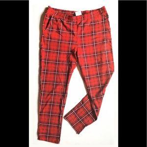 NWT Plaid Pyjama Pants